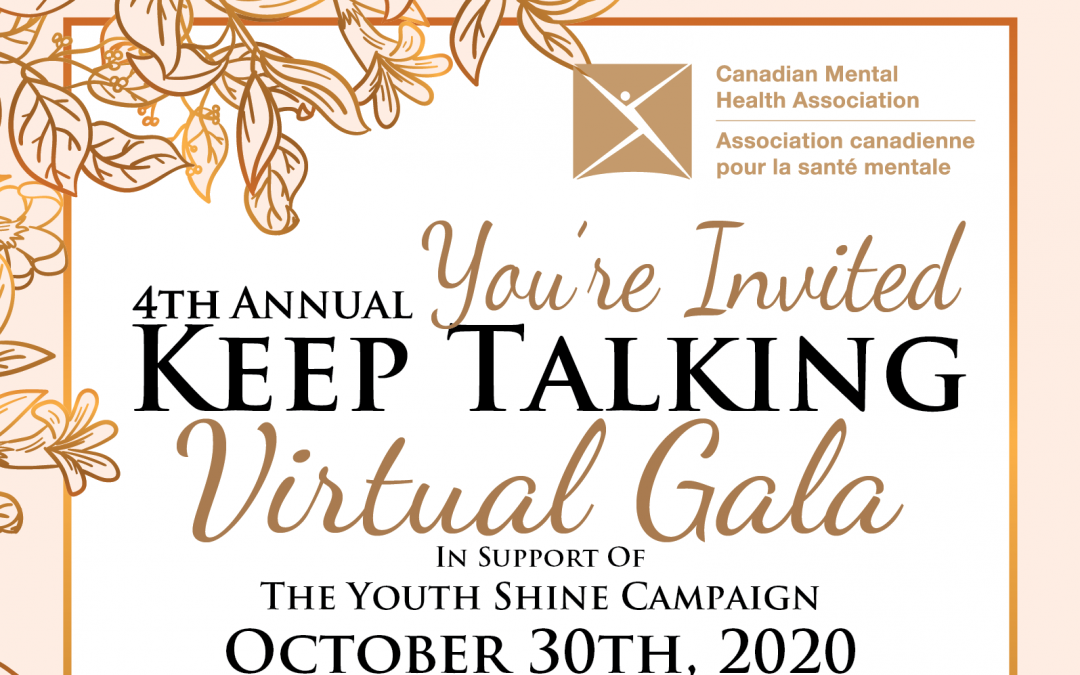 CMHA 4th Annual Keep Talking Gala
